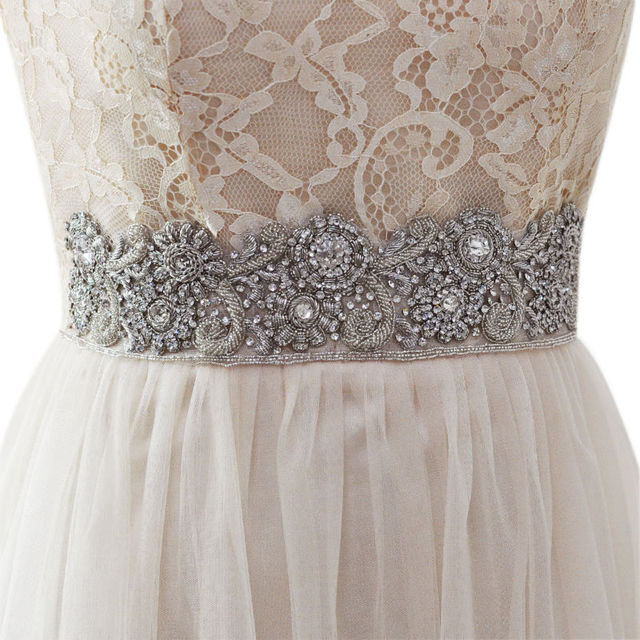 TOPQUEEN AS05 India Silk  Bride Evening Party Gown Dresses Accessories Wedding Sashes Belt/Waistband Bridal Belts Sashes