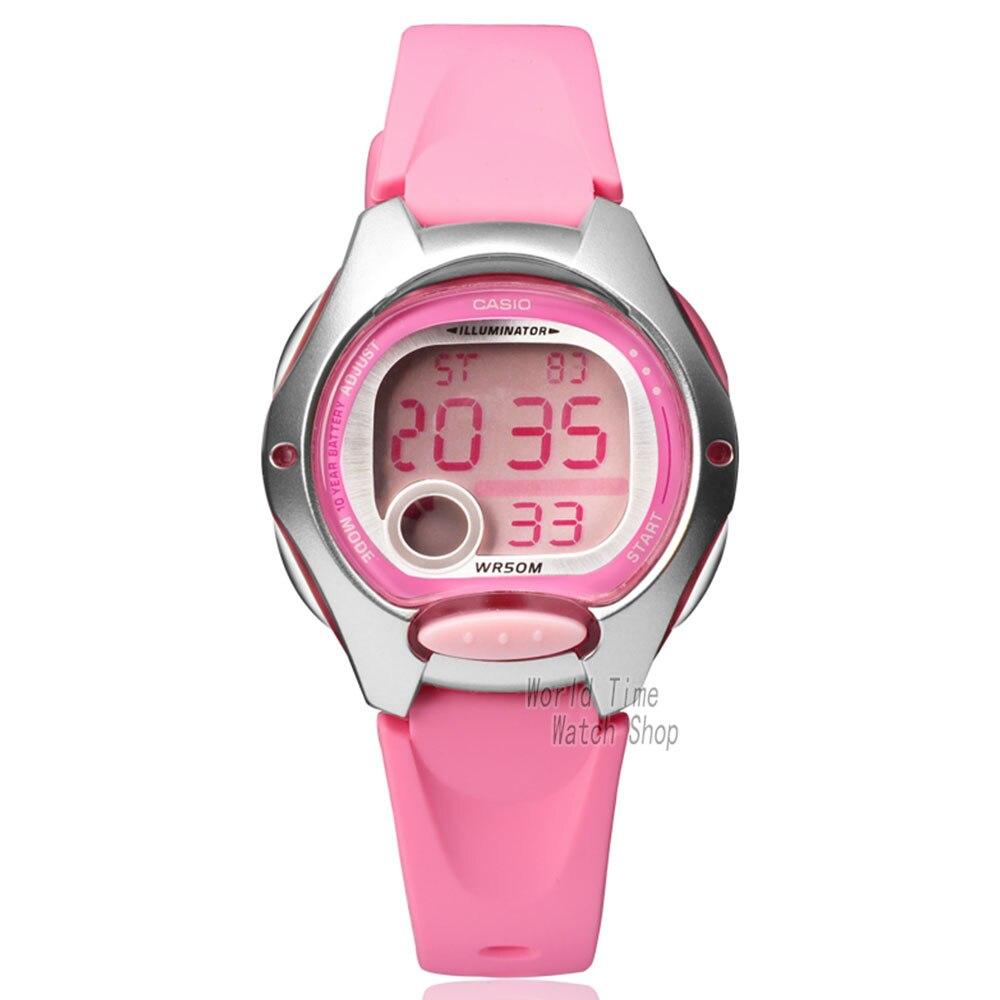 Casio watch Fashion Women Sports Student Watch LW-200-4B 7A  casio watch sweet fashion sports female student watch lx 500h 1b 1e 4e 7b2