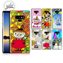 Little My For Case Samsung Galaxy Note 9 Black Case for Samsung Galaxy A50 A530 A750 A7 A8 2018 Phone Cover Case for Note 8 9 цена и фото