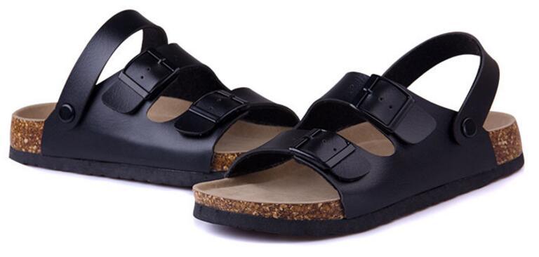 sandals black