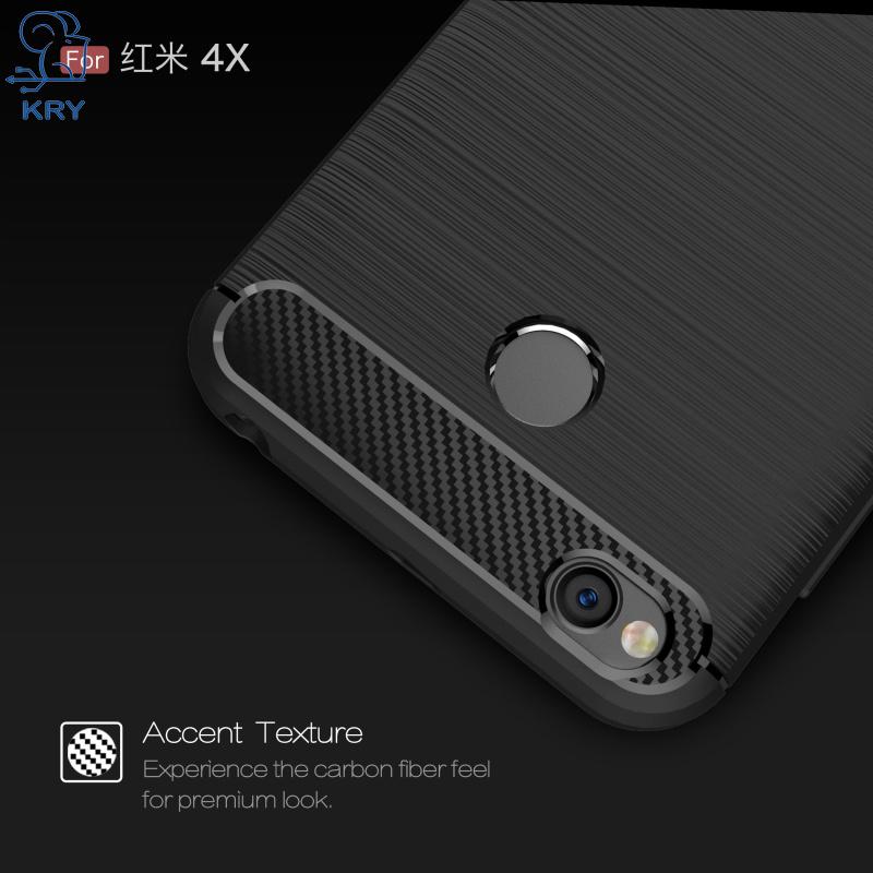 кры телефонные чехлы силиконовые мягкий тпу бизнес углерода телефонные чехлы для xiaomi редми 4х чехол для xiaomi редми 4х дело капа коке
