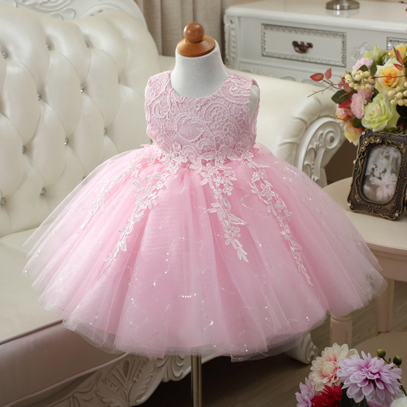Little Flower Girls Dresses for Weddings Baby Party Frocks Sweet ...