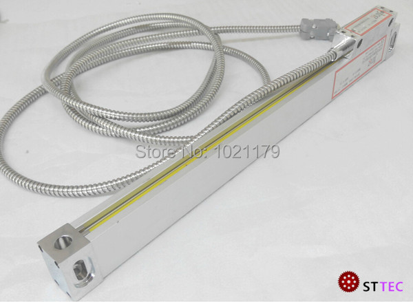 High precision lathe 200mm glass linear scale for DRO free shipping high precision easson gs11 linear wire encoder 850mm 1micron optical linear scale for milling machine cnc