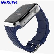 2016 neue Tragbare Geräte Smart Uhr Android Verbunden Uhr Smart Wach Unterstützung Sim-karte Telefon Smartwatch VS GT08 F69