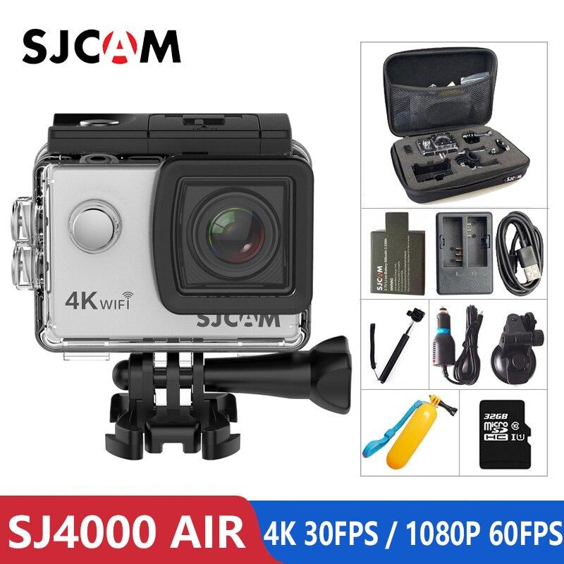 "SJCAM SJ4000 AIR Action Camera Full HD Allwinner 4K @30fps WIFI 2.0"" Screen Waterproof Underwater Camera Sports DV Cam-in Sports & Action Video Camera from Consumer Electronics"