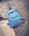 2016 mujeres Vintage mochilas de lona para niñas bolsas escolares mochila de viaje mujer mochila mochila C5095 634-111
