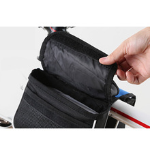 New Waterproof Large capacity bicycle bags front frame head  mountain bike storage bag, cycling bag
