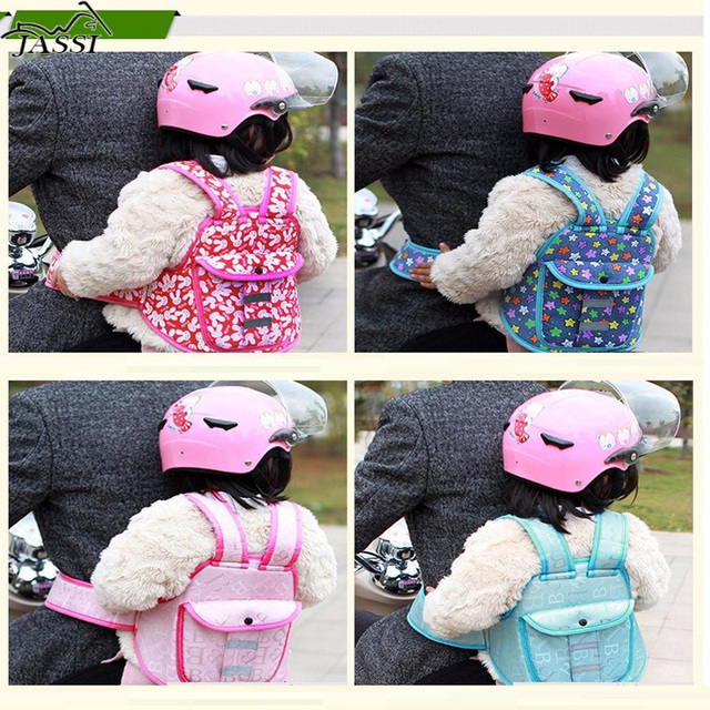motorcycle Children belt baby child motorcycle battery car bike Electric protection infant carrier