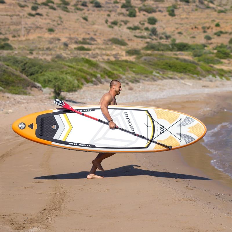 6b5373f3b 330 81 15 centímetros inflável prancha de surf stand up paddle board sup  AQUA