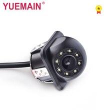 YUEMAIN автомобиля задний вид Камера с 8 светодиодный HD Водонепроницаемый парковка линия DC 12 V CCD Видео резервного образа Камера