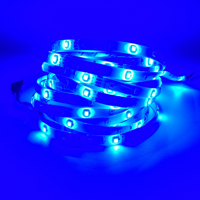 5M / Roll RGB LED Жарық диодтары 3528 SMD 300LEDs 60LEDs - LED Жарықтандыру - фото 3