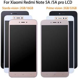 Image 1 - 1920*1080 5,5 дюймов AAA Качество ЖК + рамка для Xiaomi Redmi Примечание 5A ЖК дисплей экран для Redmi Note 5A Prime Y1/Y1 Lite LCD