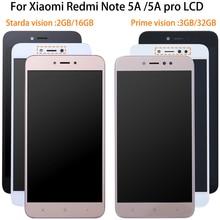 1920*1080 5.5 Inç AAA Kalite LCD + Çerçeve Için Xiaomi Redmi Not 5A LCD ekran Ekran Redmi Için Not 5A Başbakan Y1/Y1 Lite LCD