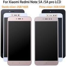 1920*1080 5.5 pouces AAA qualité LCD + cadre pour Xiaomi Redmi Note 5A écran daffichage LCD pour Redmi Note 5A Prime Y1/Y1 Lite LCD