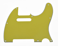KAISH 8 Hole TL Scratch Plate Guitar Pickguard Purple (Yellow Orange Green Blue Pink Red)3 Ply