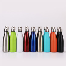 Colorful Water Bottle Bright Leak-proof Thermos Stainless Steel Insulated Vacuum Flask Portable Cup Drinkware