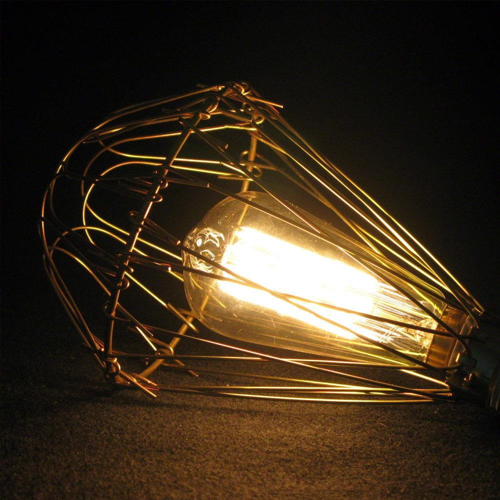 Pendant Light Cover: Novelty Transformable DIY American Country Edison Pendant