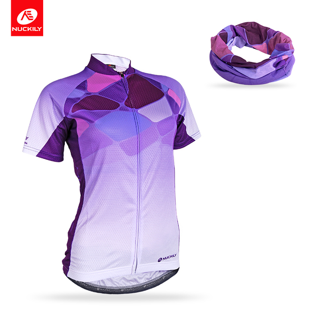 Nuckily Women s Summer Cycling Jersey Short Sleeve Jersey Breathable Cycle Wear  Shirt NJ519+PG68 2b45887f7