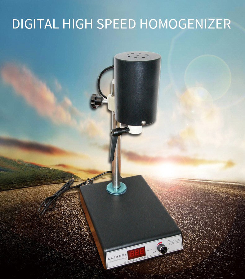 FJ200-S display digital high speed máquina homogênea/ajustável homogeneizado/dispersão homogeneização/homogeneização