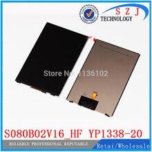 """Original 8 """"pulgadas LCD pantalla S080B02V16_HF YP1338-20 tablet pc pantalla IPS screen Envío gratis"""