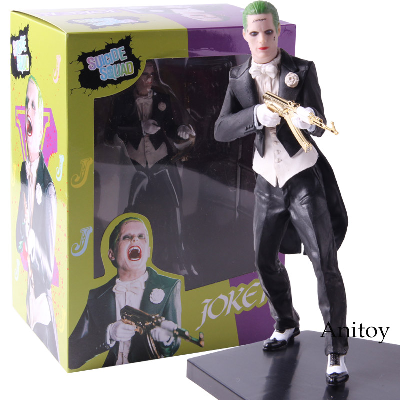 Suicide Squad Joker Action Figures PVC Collectible Model Toy