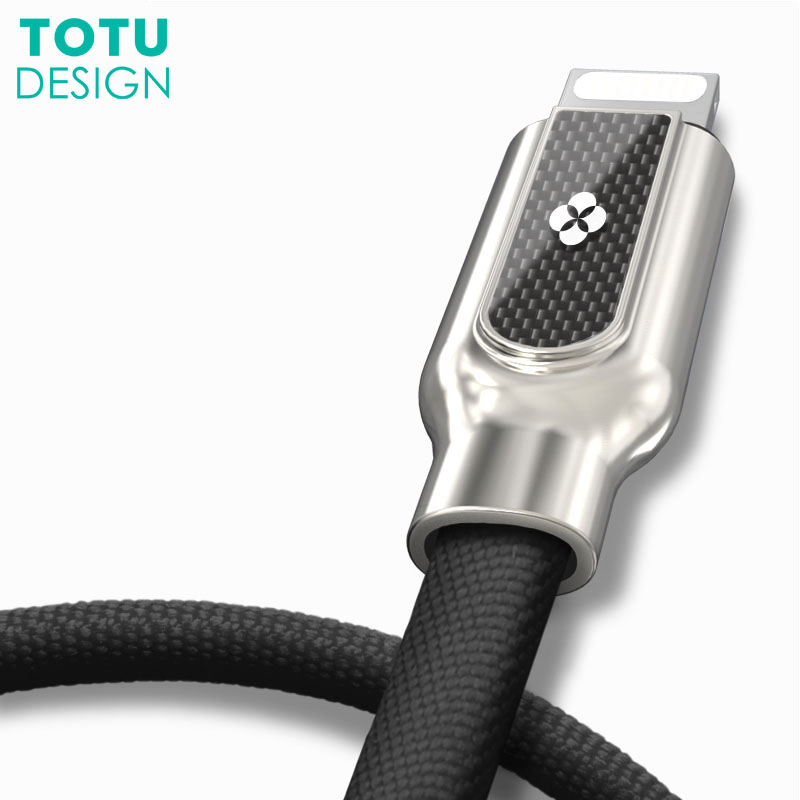 TOTU USB Cable For iPhone X 8 7 6 6S Plus 5 5S Fast Charging Mobile Phone Cable Cord For iPad Air Mini 8 Pin Charger Data Cable