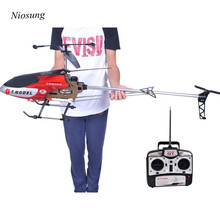 Niosung High Quality 53 Inch Extra Large GT QS8006-2 Speed 3.5 Ch RC Helicopter Builtin Gyro Red