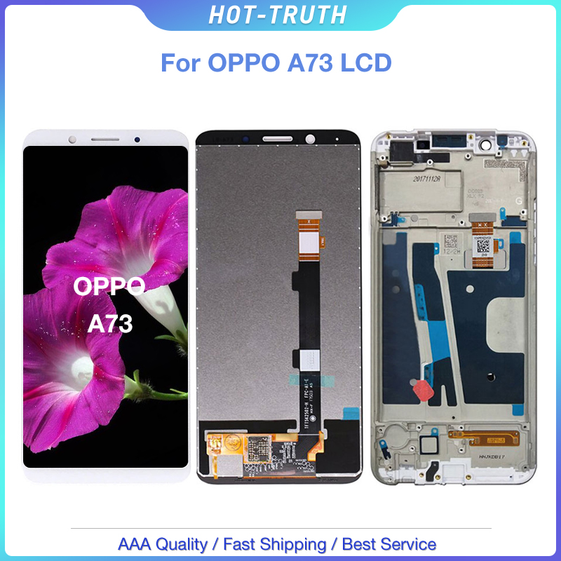 100% New For <font><b>OPPO</b></font> <font><b>F5</b></font> Youth LCD <font><b>Display</b></font> Touch Screen Digitizer Replacement Parts for <font><b>Oppo</b></font> A73 <font><b>F5</b></font> Touth LCD Assembly image