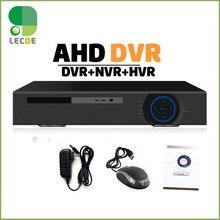 4Ch/8ch 1080N AHD-NH Hybrid DVR/1080P NVR Video Recorder Video Recorder H.264 CCTV DVR – For AHD Camera IP Camera Analog Camera