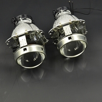2pcs 3 0 Inch Car Bixenon Hid Projector Lens Metal Holder New Version D1S D2S D3S