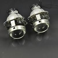 2pcs 3 0 Inch Car Bixenon Hid Projector Lens Metal Holder New Version D1S D2S D3S