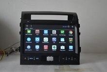 10.1 дюймов 1024×600 Quad Core Android 6.0 для Toyota Land Cruiser, автомобиль deckless gps-навигация, 3G, BT, wi-Fi, английский, черный