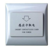 Free shipping ,13.56MHZ IC Card Energy Saving Switch , hotel Card Switch,inserting card switch ,10 pieces/lot