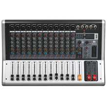 Mixing console recorder 48 V phantom power monitor AUX effect path 4-12 channel audio mixer USB comes with power amplifier KA