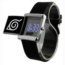 LED Electronic Watch anime Naruto bleach Attack Titan Wrist Watch