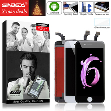 Sinbeda 5pcs/lot LCD For iPhone 6 6s Plus LCD Display Touch Screen Digitizer Assembly for iPhone 6 6S Plus 6 Plus Display цена