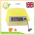 New Design Fully Digital Mini 48 Eggs Incubator Chicken Duck High Quality Egg Hatchery Machine Fully Automatic Egg Turning