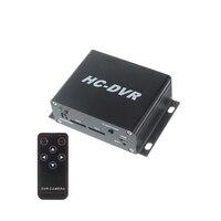 Nowy H.264 720 P Mini DVR Video Recorder Dual 64 GB TF karty 720 P/VGA/QVGA Nagrywania wideo w czasie Rzeczywistym 720 P HDMI wyjście Zdalnego kontrola