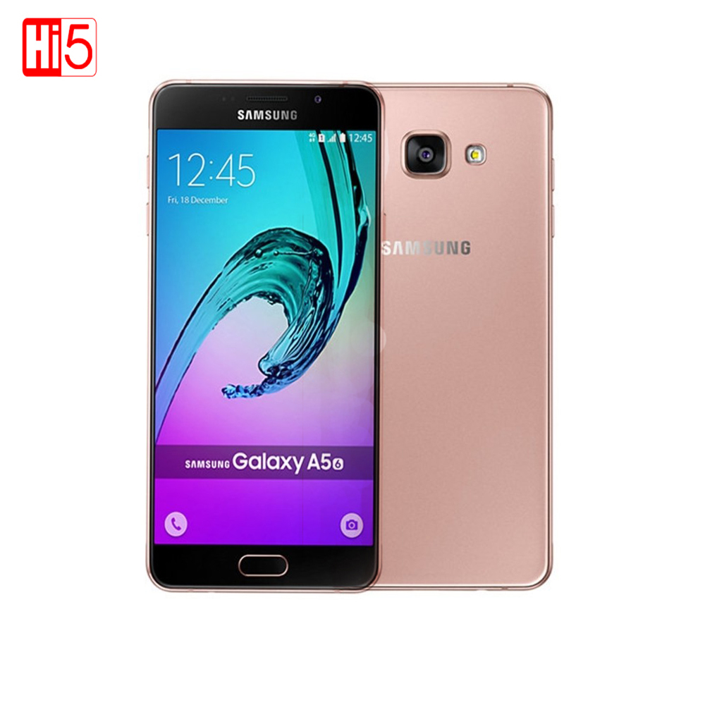 Samsung Galaxy A5 A5100 mobile phones 5 2 Android Dual SIM MSM8939 Octa Core 2G RAM