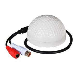 Image 1 - YiiSPO ميكروفون CCTV الأكثر مبيعًا على شكل جولف جهاز التقاط الصوت حساسية عالية DC12V جهاز مراقبة الصوت والاستماع