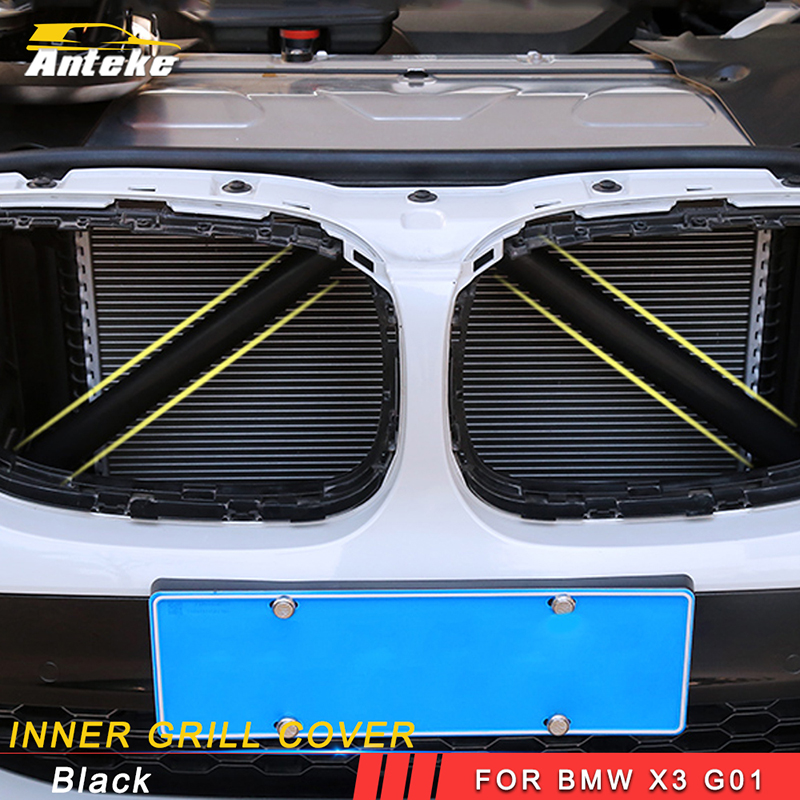 ANTEKE Car Inner Grill Cover accessories For BMW X3 G01
