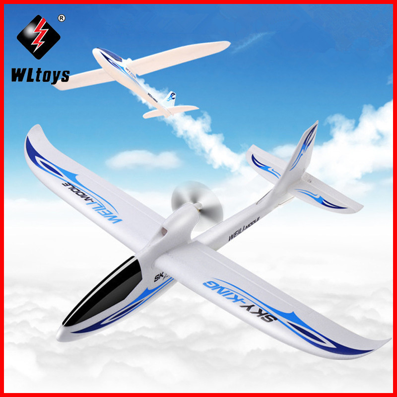Original WLtoys F959 Sky King RC Aircraft 3CH 2.4GHz Rechargeable Li-Po Battery Wireless Remote Control Aircraft RC Airplane pt 17 trainer remote control aircraft aeromodelling 4 ch 2 4ghz stearman pt 17 rc bi plane airplane pnp and kit