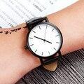 2017 mulheres Novas dos homens relógios de moda relógios de Pulso de Quartzo homens sports watch relogio masculino Homem Elegante Relógio De Couro Criativo