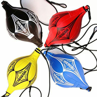 Boxing Speed Ball Double End Muay Thai Boxing Punching Bag Speed Ball PU Punch Training Fitness