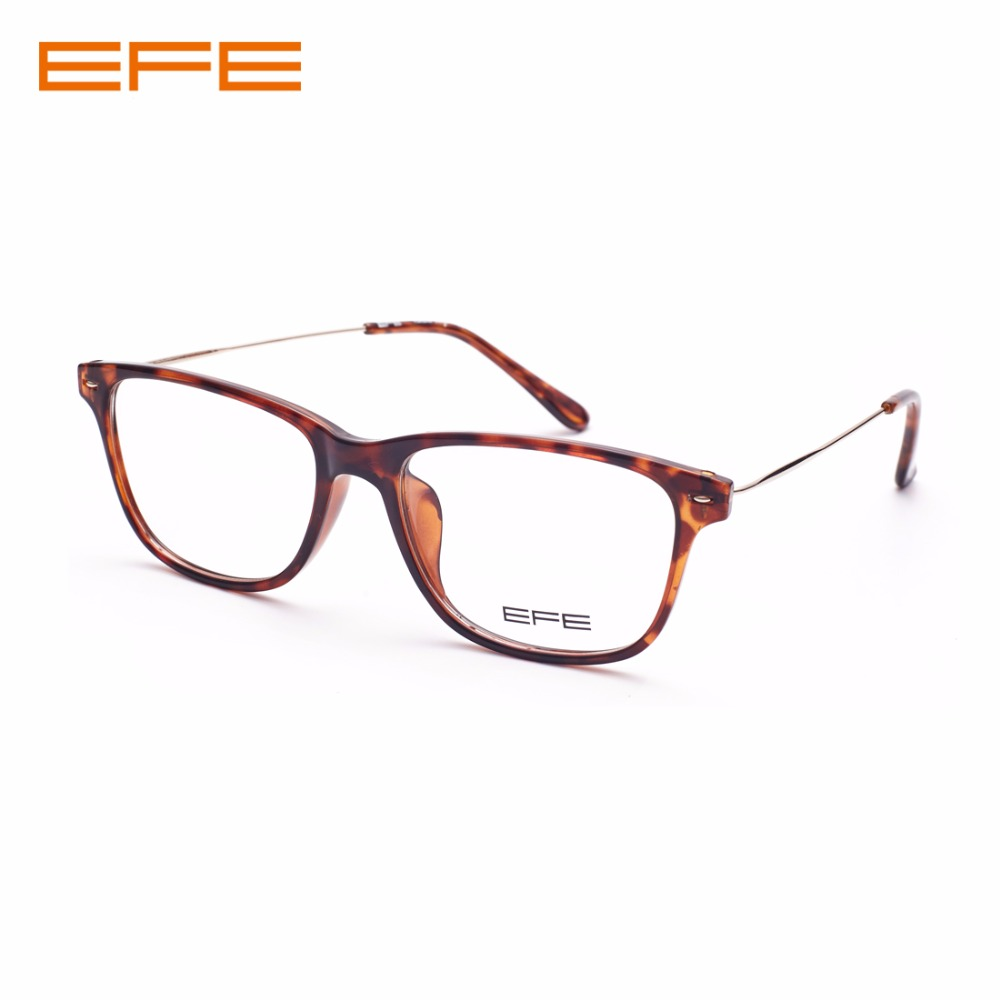 EFE Custom Prescription Eyeglasses Optical Bifocal Progressive Photochromic Anti Blue Clear Lens Prescription Glasses For Men