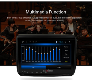 "Image 3 - 9 ""HD Android 8.1 Auto DVD Stereo Spelen Voor Peugeot 208 2008 GPS Navigatie 2G RAM WIFI FM auto Radio Video Bluetooth Multimedia"