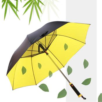 Automatic Open Umbrella Extra Large Oversize Windproof Waterproof Stick Umbrellas With Fan