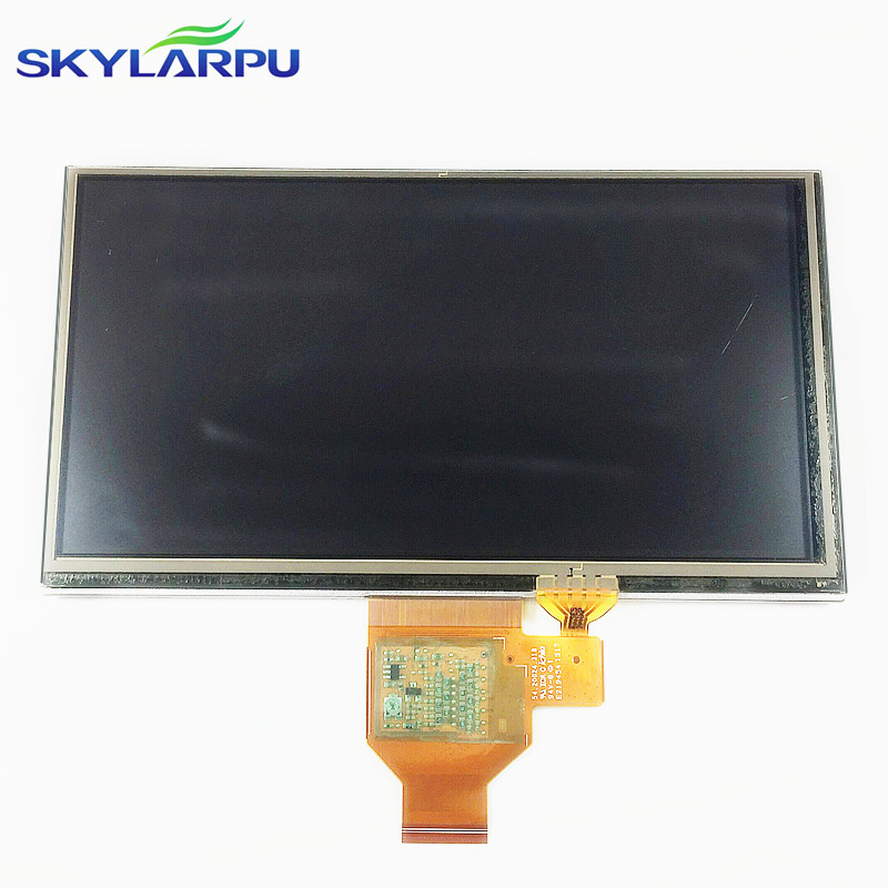 skylarpu 6.1 inch LCD screen A061VTT01.0 for GARMIN Nuvi 67 67LM 67LMT GPS display Screen with Touch screen digitizer skylarpu new 4 3 inch for garmin nuvi 765 765t 1690 gps lcd display screen at043tn24 v 4 lcd screen touch panel free shipping