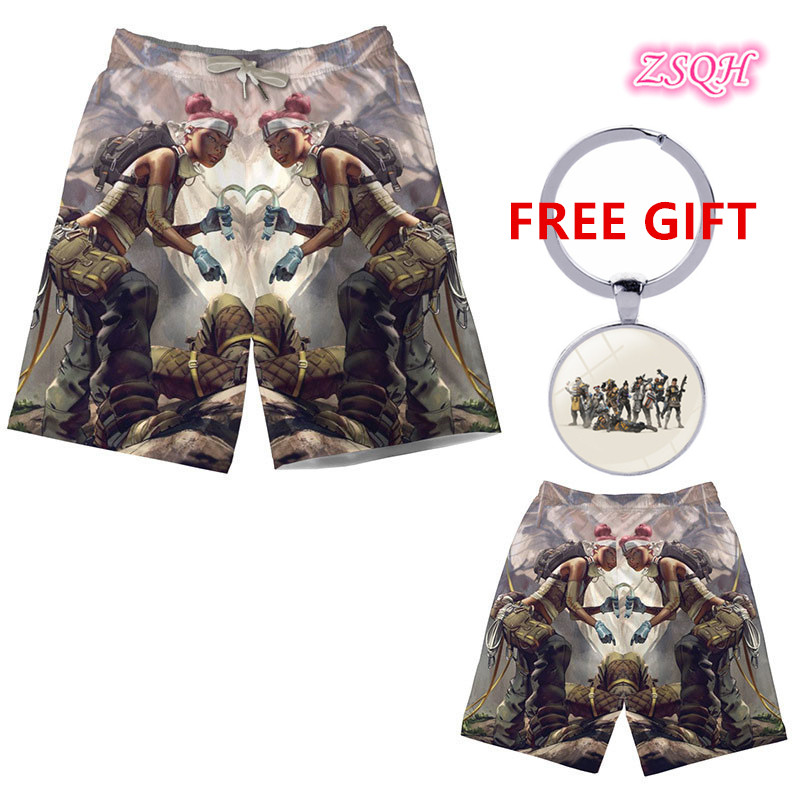 ZSQH Apex Legends costume bloodhound Eliot Witt Alexander Nox Wraith Pants Apex shorts cosplay Costumes Bodysuit for Kids Men