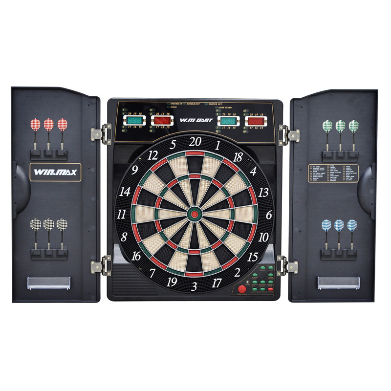 High Quality Electronic Dartboard Target Dart Game Set for Adult Playing Dart Game Fitness Equipment for Indoor 159 Gameplaying wmg08580 professional 18 soft tip electronic voice dartboard with 6 dart black multicolor